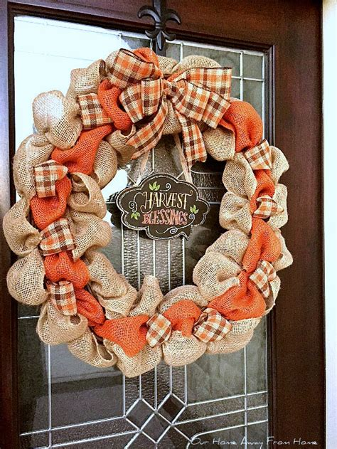 make your own fall wreath our home away from home make your own fall wreath
