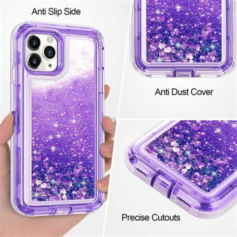 apple iphone pro max shockproof glitter