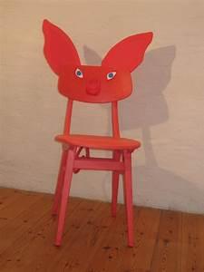 Recycling Ein Alter Stuhl Wird Zum Schweinchen Stuhl Fr