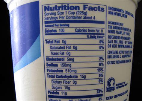 dannon yogurt nutritional information besto blog