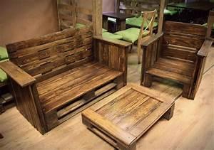 DIY Pallet Furniture for Living Room Pallet Furniture