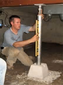 sagging crawl space repair in vancouver surrey burnaby