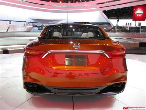 Detroit 2018 Nissan Sport Sedan Concept