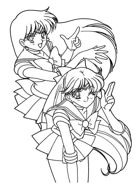 coloring pages sailor moon animated images gifs pictures animations