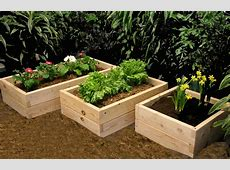 Concrete Block Raised Bed Garden Decoseecom