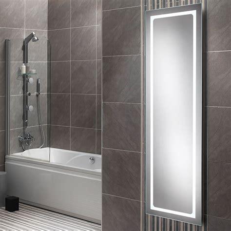 Hib Alto Led Tall Bathroom Mirror 425 X 1400mm 77420000