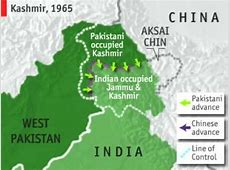 Videographic India, Pakistan and Kashmir YouTube