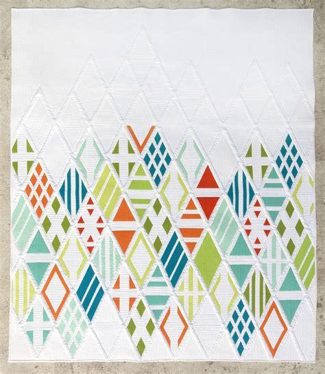Patchwork Muster Modern eidos quilt pattern the modern quilt guild shop modern