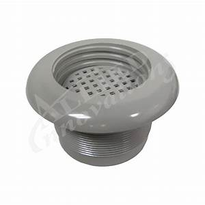 Wall Fitting Suction  Low Flow Filter By Sundance Jacuzzi