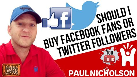 buy facebook fan page followers answered should i buy facebook fans or twitter followers