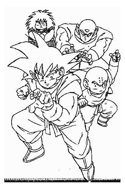 Colorir Desenhos Dragon Ball Coloring