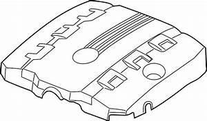Chevrolet Camaro Engine Cover  Front   3 6 Liter