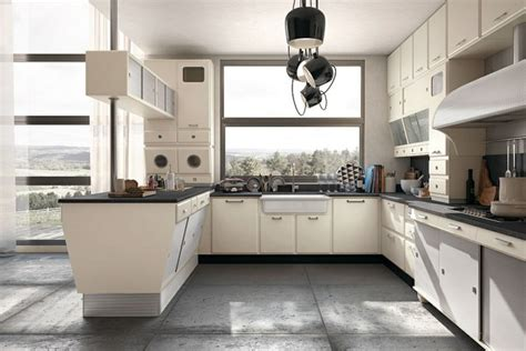 50 s kitchen design the modern kitchen in retro style can designed be fresh 1107