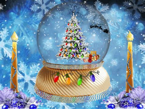 Animated Snow Globe Wallpaper - free hd wallpapers merry happy