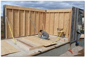 Garage Ossature Bois : le garage en ossature bois le blog de ~ Melissatoandfro.com Idées de Décoration