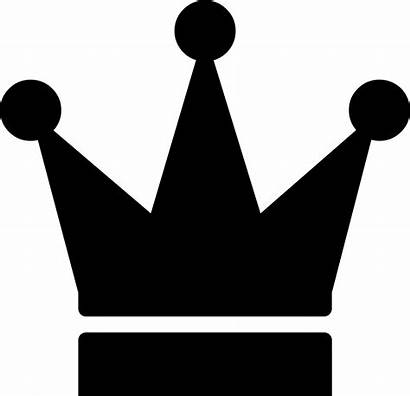 Crown Icon Svg Silhouette Clipart Transparent Vector