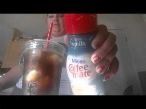 We have the house blend flavor, it's also available in vanilla. Maxwell house iced coffee - YouTube