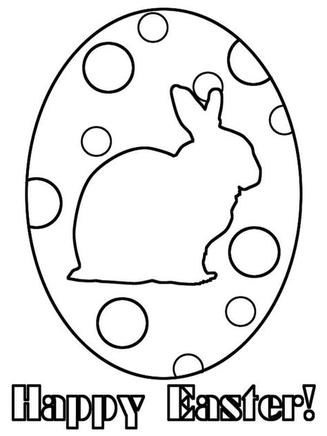 easter egg coloring pages  printable easter egg