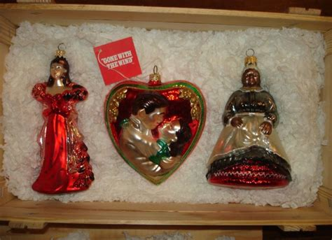 polonaise gone with the wind glass ornaments with the wind ornament shop collectibles daily