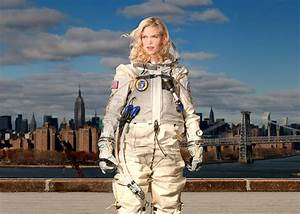 Creating sexier spacesuits for the commercial space race.
