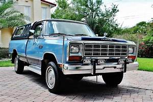 1985 Dodge Power Ram 150 4 Wheel Drive Pick Up In With