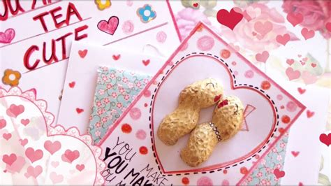 Simple, easy, diy fun for the whole family! DIY: Cute Valentine's Day Cards - YouTube