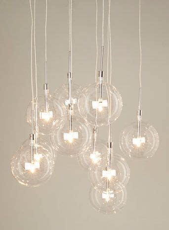 Clear Dee 10 light cluster. Pendant light   Products I