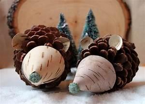 Basteln Kindern Weihnachten Tannenzapfen : 60 kreative ideen zum basteln ~ Whattoseeinmadrid.com Haus und Dekorationen