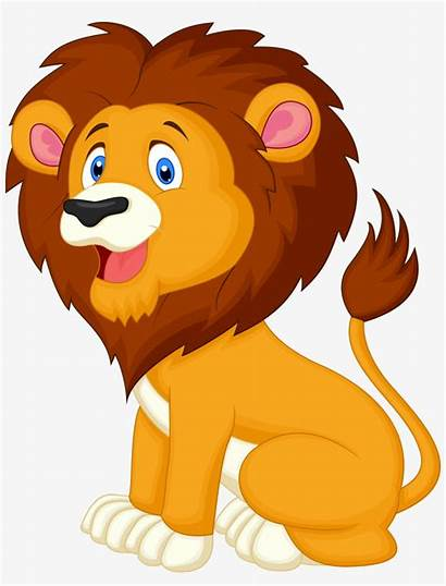 Lion Clipart Cartoon Transparent Pngkey Pngitem