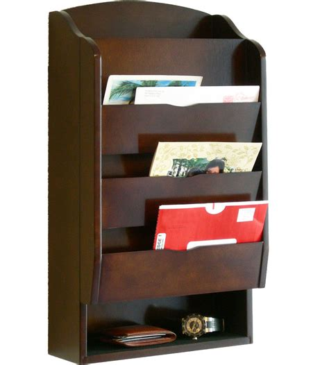 wall mounted kitchen organizer entryway mail organizer in mail organizers 6950