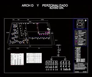 Electric Plane Winery In Autocad