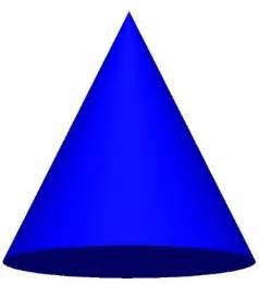 3D Cone Shape Clip Art