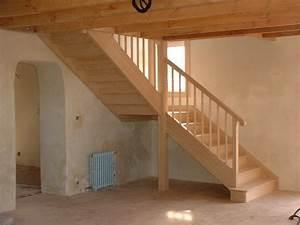 Escalier En U : escaliers traditionnels l 39 atelier du tregor ~ Farleysfitness.com Idées de Décoration