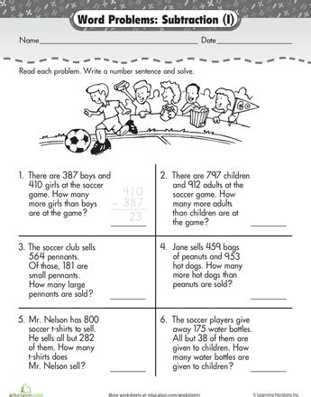 digit subtraction word problems word problem 3 digit subtraction at the word problems worksheets and math