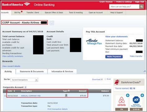 You can try sending bank of america a message through its facebook page. Credit Card Closing Date Bank Of America