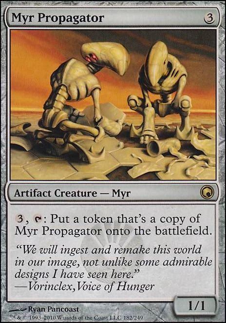 Myr Tribal Deck Mtg by Mtg Myr Deck Tappedout 28 Images Gold Myr Som Mtg Card