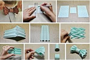 How to make origami bow ties step by step DIY tutorial ...
