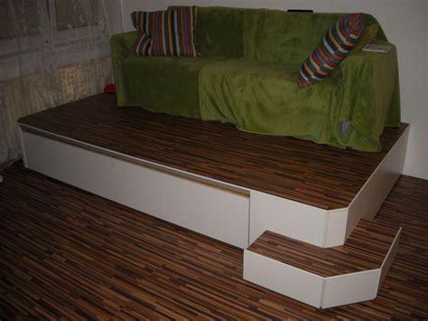 Podest Für Bett Selber Bauen by Podest Mit Bett Bauanleitung Zum Selberbauen 1 2 Do