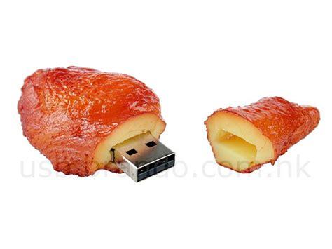 cuisine flash bbq food themed usb flash drive gadgetsin