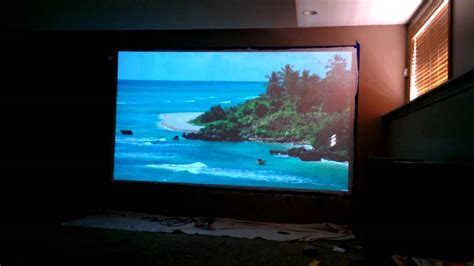home theatre epson 8350 sherwin williams painted wall