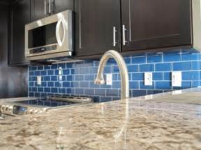 blue kitchen backsplash how to install a glass tile backsplash armchair builder build renovate repair