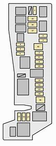 Toyota Matrix First Generation Mk1  E130  2007 - 2008   U2013 Fuse Box Diagram