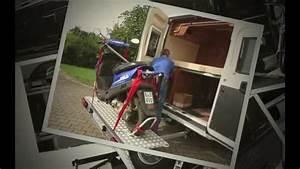 Motorradträger Für Wohnmobil : motorradtr ger rollertr ger f r kastenwagen youtube ~ Kayakingforconservation.com Haus und Dekorationen