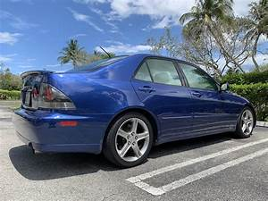 Fl  2002 Lexus Is300 Manual Transmission Intensa Blue