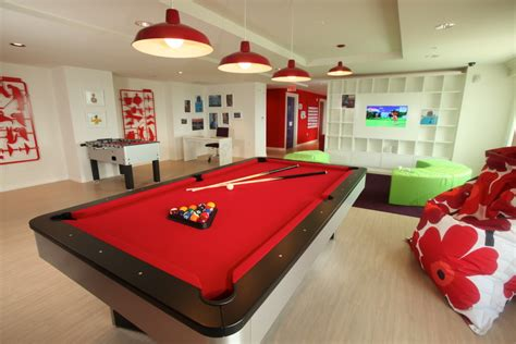 room pool table contemporary trends robertson billiards 3731