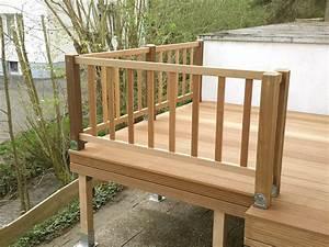Balkongeländer Holz Selber Bauen : gel nder terrasse holz qw09 hitoiro ~ Lizthompson.info Haus und Dekorationen