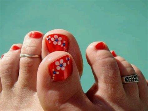 Uñas decoradas para pie principiantes fácil de hacer paso a paso/decoración de uñas pies en negro. Disenos De Unas Con Flores Faciles Para Pies - Flores Imagenes