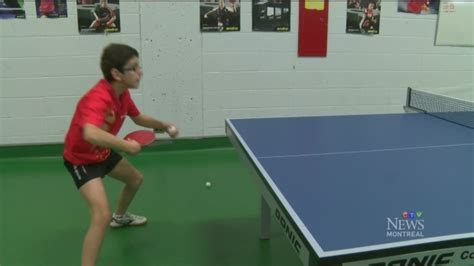 CTV Montreal: Boris Kalev: master of table tennis   CTV