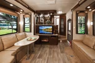 Luxury Fifth Wheel Rv Front Living Room by Toy Hauler Interior Car Interior Design