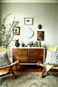 Mid Century Modern Bohemian Vintage Interior Design ...
